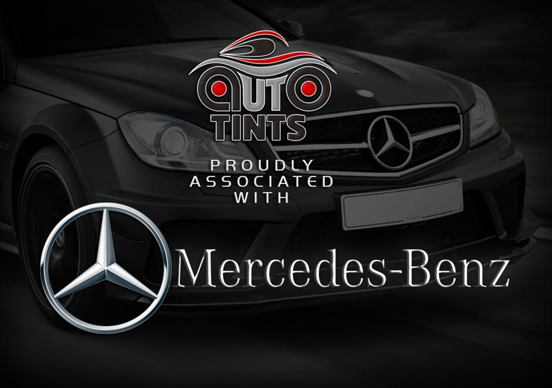 AutoTints are officially associated with Mercedes Benz