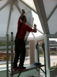 Conservatory Roof window tinting